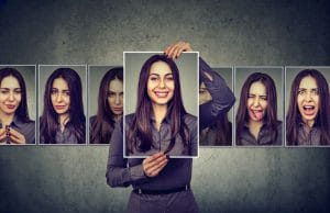 woman going through range of emotions | Melissa Graham-Hurd & Associates
