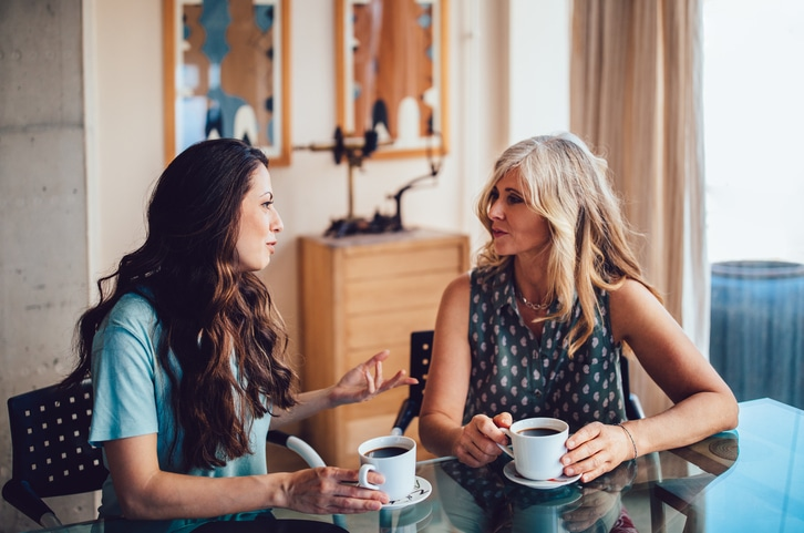 Women Socializing After Divorce